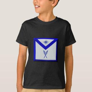 Camiseta Secretário maçónico Avental