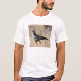 Camiseta Secretário pássaro