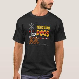 Camiseta Seguindo cães