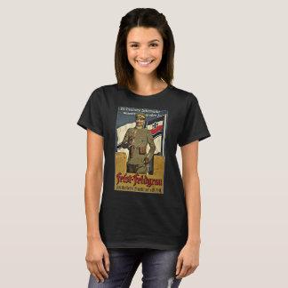 Camiseta segunda guerra mundial Alemanha do casaco da