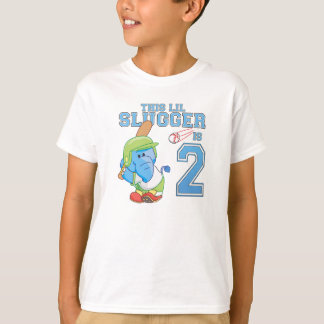 Camiseta Segundo aniversário do basebol do elefante