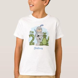 Camiseta Segundo aniversário do cavaleiro do dragão