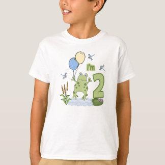 Camiseta Segundo aniversário do comedor de rãs