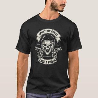 Camiseta Segundo crânio da alteração & t-shirt dos homens