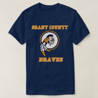 Camiseta Segundo grau kentucky   do Condado de Grant Braves