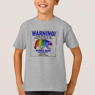Camiseta Segurança da consciência do autismo do urso de