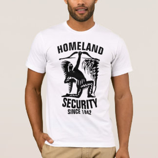Camiseta SEGURANÇA INTERNA, t-shirt do indiano do nativo
