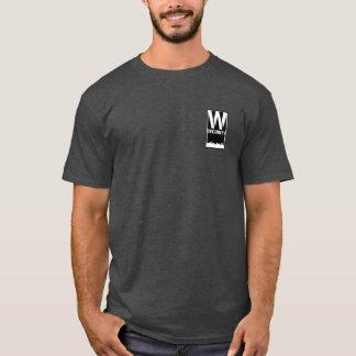 Camiseta Segurança T da divisão com logotipo maior da
