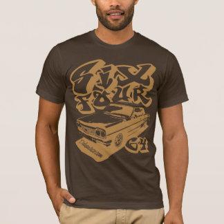 Camiseta Seis quatro (ouro torrado)