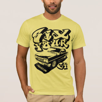Camiseta Seis quatro (preto da batata frita)