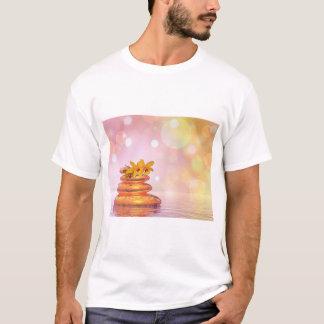 Camiseta Seixos calmos - 3D rendem