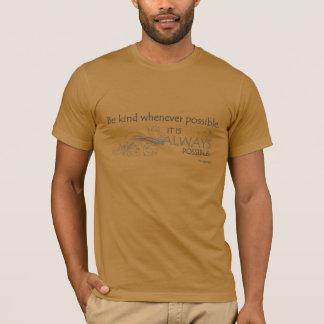 Camiseta SEJA 001a AMÁVEL (CITAÇÕES de DALAI LAMA - a PARTE