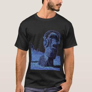 """Camiseta """"Seja"""" 3 diferentes Moai, fones de ouvido DJ T"""