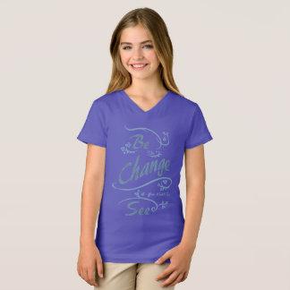 Camiseta Seja a mudança que você quer ver