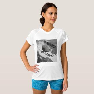 Camiseta Seja apaixonado! Seja grande! Design