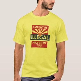 Camiseta Seja arizona ilegal