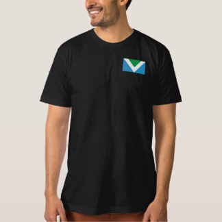 Camiseta Seja corajoso. Seja amável. Vai o Vegan.