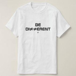 Camiseta Seja diferente