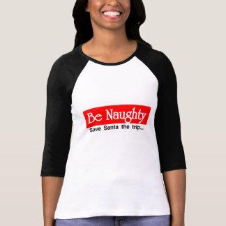 Camiseta Seja impertinente - papai noel das economias a