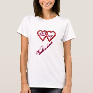 Camiseta Seja meu t-shirt das mulheres dos namorados