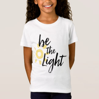 Camiseta Seja o T claro