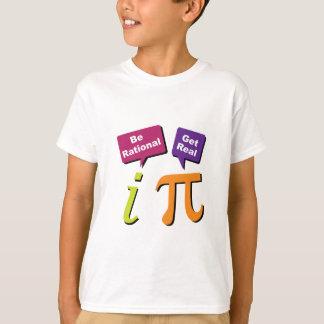 Camiseta Seja racional - obtenha real