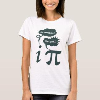 Camiseta seja racional! obtenha real!