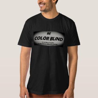 Camiseta Seja t-shirt das cortinas de cor (o preto)