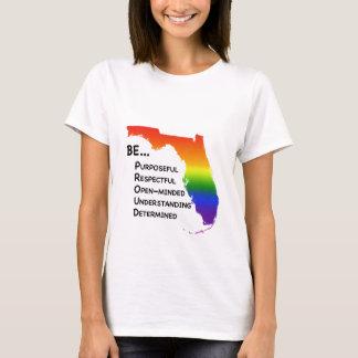 Camiseta Seja t-shirt orgulhoso