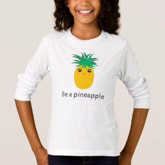 Camiseta Seja um suporte do abacaxi alto seja doce