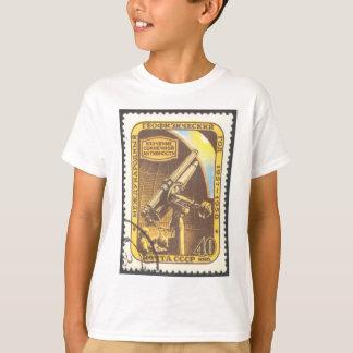 Camiseta Selo 1957 da astronomia de URSS da T-Camisa da