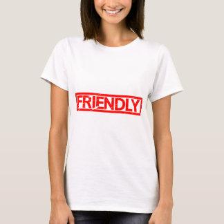 Camiseta Selo amigável