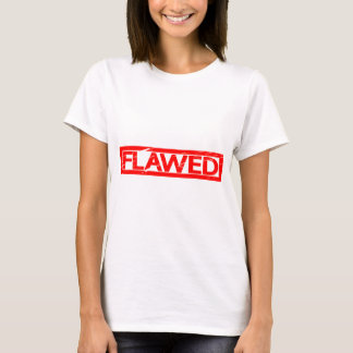 Camiseta Selo danificado