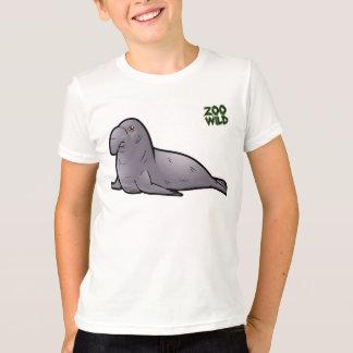 Camiseta Selo de elefante do sul