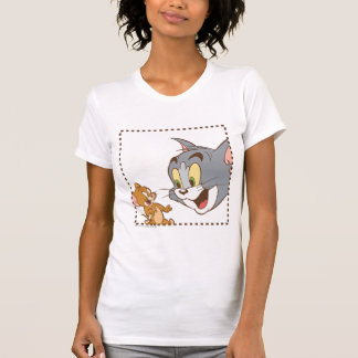 Camiseta Selo de Tom e de Jerry
