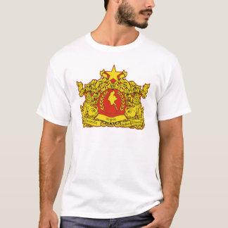 Camiseta Selo do estado de Myanmar
