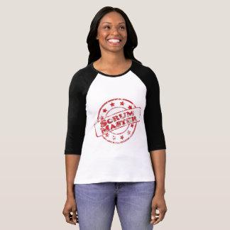 Camiseta Selo do mestre do scrum