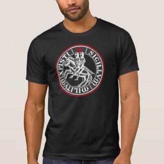 Camiseta Selo dos soldados de Templar dos cavaleiros
