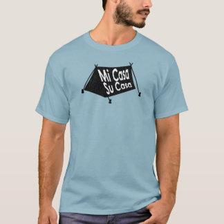 Camiseta Selo espanhol da barraca das casas da SU das casas