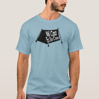 Camiseta Selo espanhol da barraca das casas do Es SU das