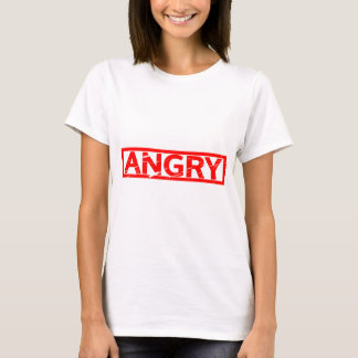 Camiseta Selo irritado