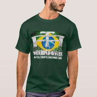 Camiseta Selo T de Jiu Jitsu do brasileiro da malhação do