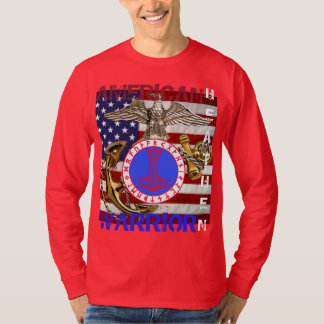 Camiseta Selvagem americano--Fuzileiros navais
