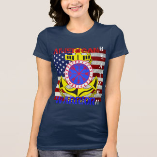 Camiseta Selvagem americano--Marinheiro