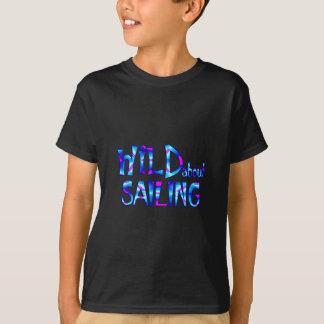 Camiseta Selvagem sobre a navigação