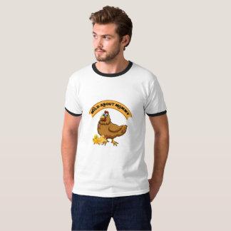 Camiseta Selvagem sobre mulheres engraçadas da mamã da