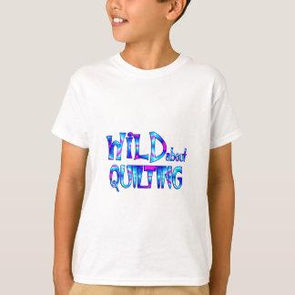 Camiseta Selvagem sobre o acolchoado