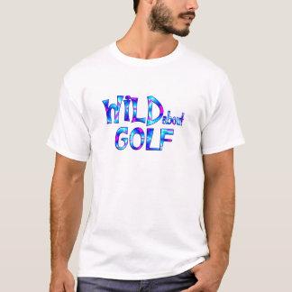 Camiseta Selvagem sobre o golfe