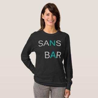 Camiseta Sem o preto Longsleeve do bar