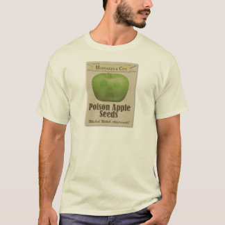 Camiseta Sementes de Apple do veneno de Monsanto